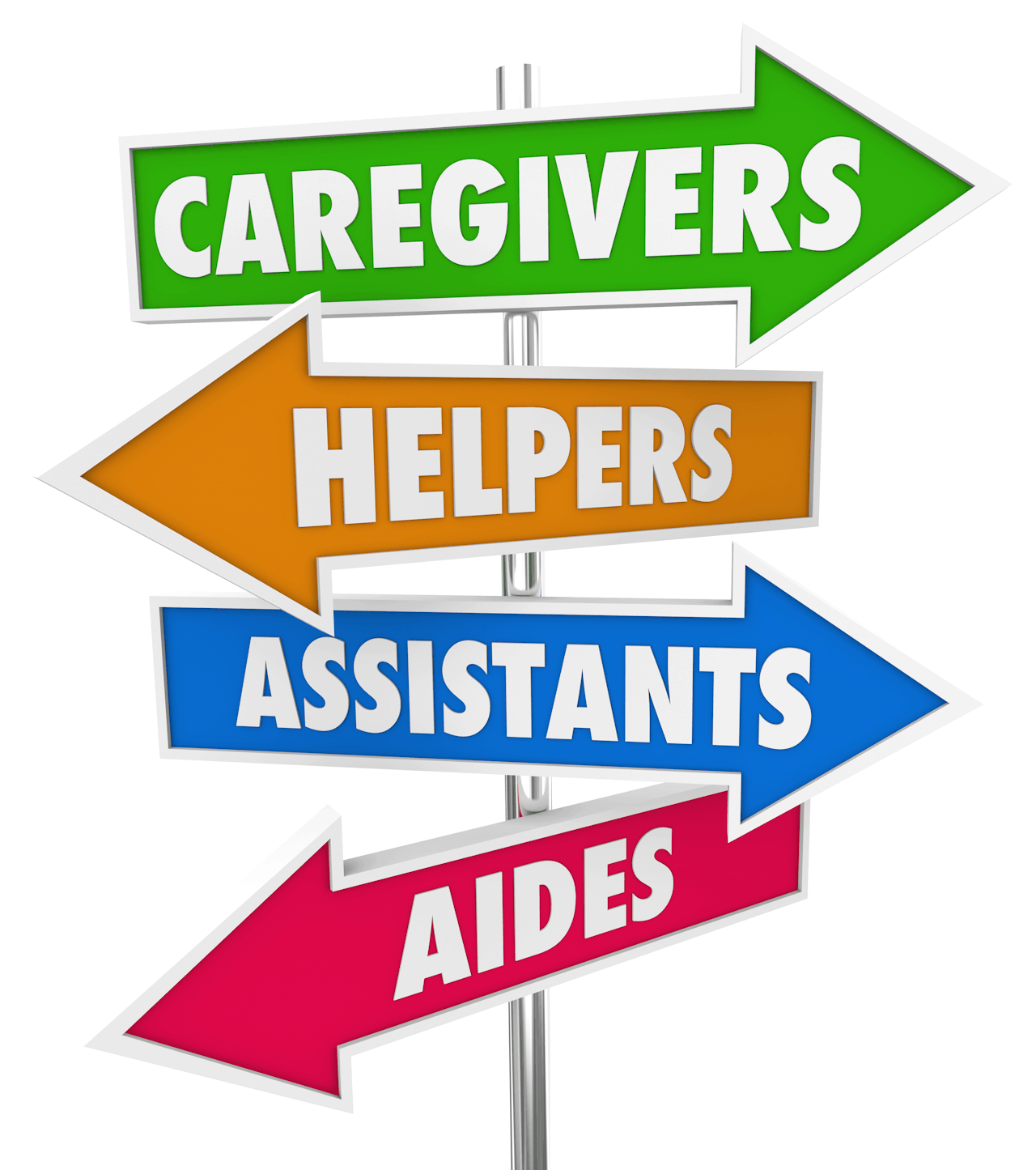 Caregivers Helpers Assistants Aides